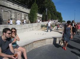 Pétanque, Paris Plage